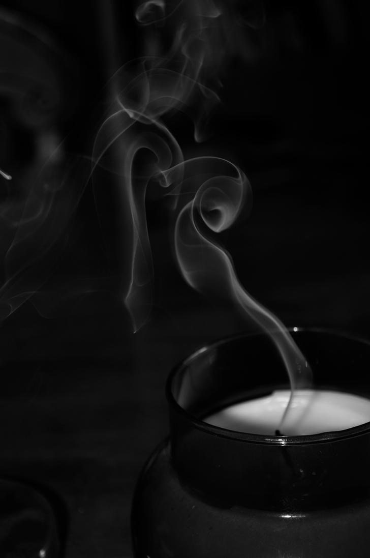 Candle smoke by jessievdl on DeviantArt for Candle Smoke Photography  155fiz