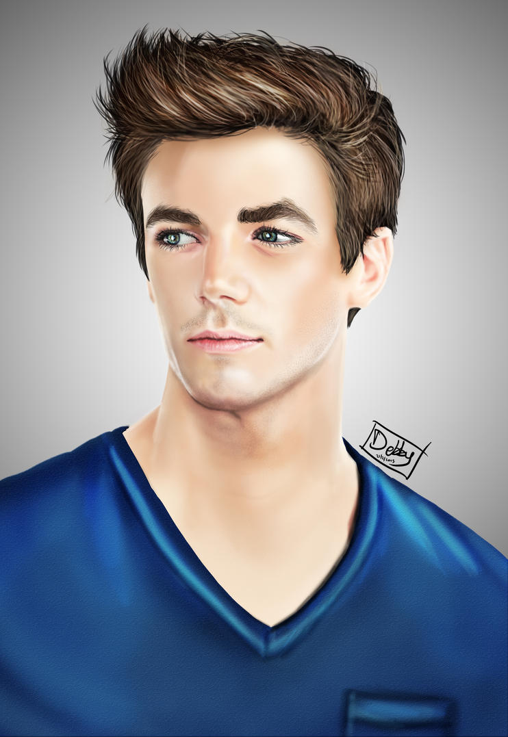 Grant Gustin By Debby1996 On Deviantart