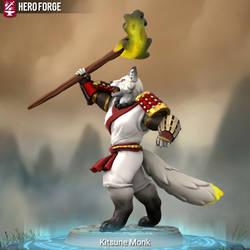 Kitsune Inari Priest