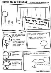 Comic 195: In the Navy
