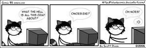 Comic 93: onoes.exe by lolwebcomic