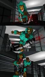 MMD Berserkers escape