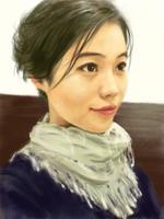 Vera (3/4 side face) by ilovepumpkin2014
