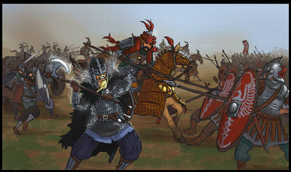 Commission: Clashing on the Battlefield