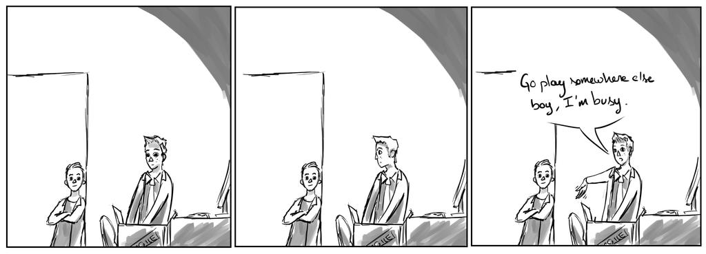 Site-Aleph Comic Strip #3 : Teh Kiddo by Mohanga
