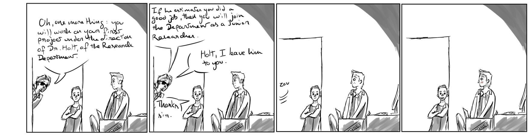 Site-Aleph Comic Strip #4 : Mistaken by Mohanga