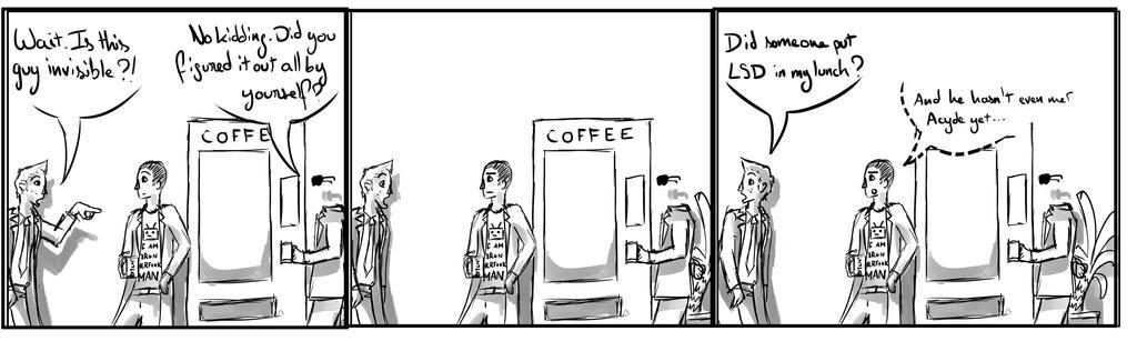 Site-Aleph Comic Strip #9 : LSD by Mohanga