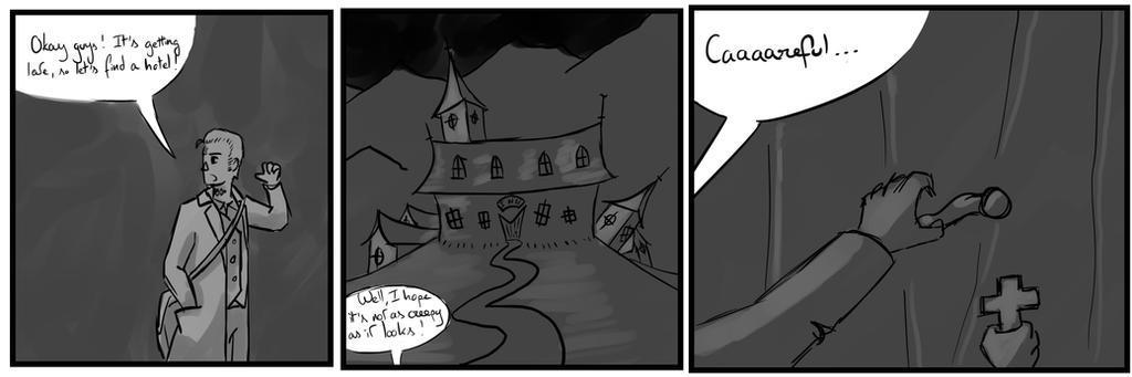 Site-Aleph Comic Strip #20 : The Inn by Mohanga