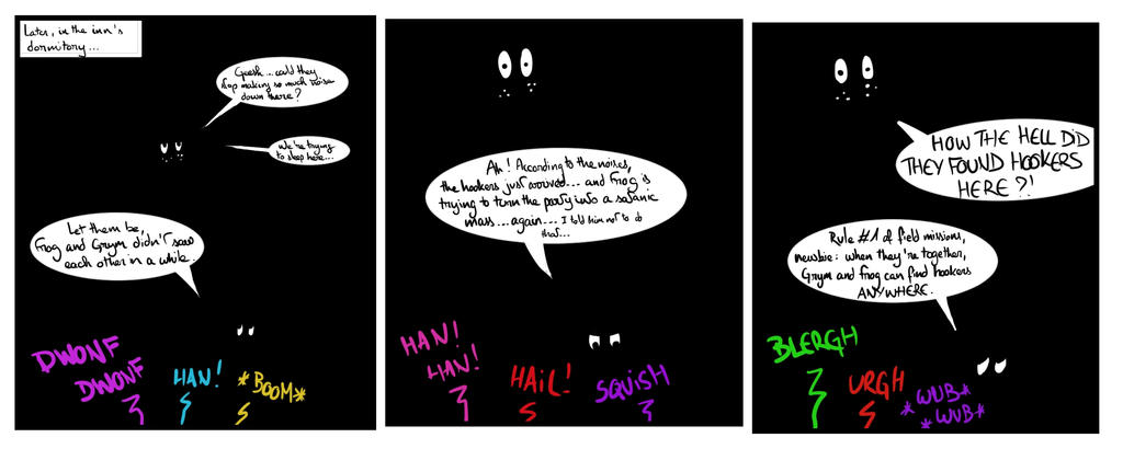 Site-Aleph Comic Strip #23 : Party Hard by Mohanga
