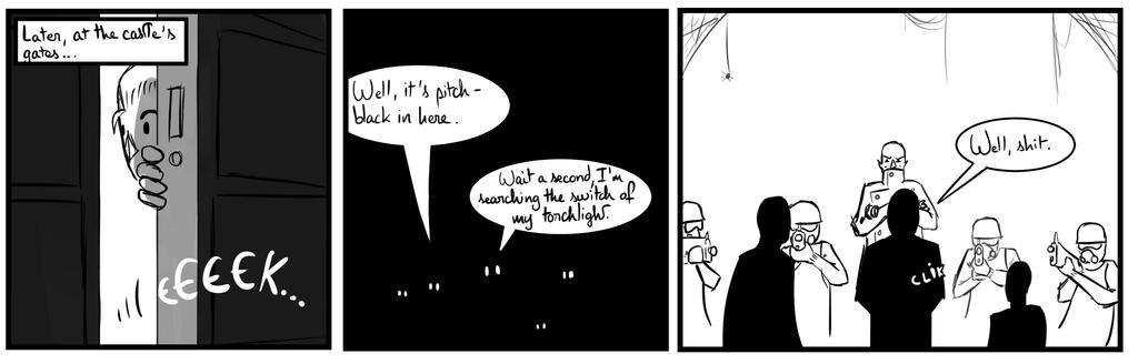 Site-Aleph Comic Strip #27 : It's a trap ! by Mohanga