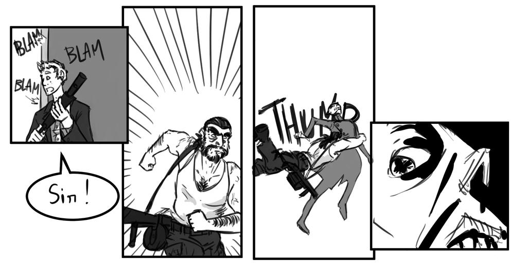 Site-Aleph Comic Strip #49 : Tackle by Mohanga