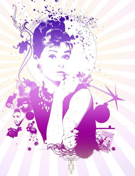 Pop art Audrey by smoothdog2000