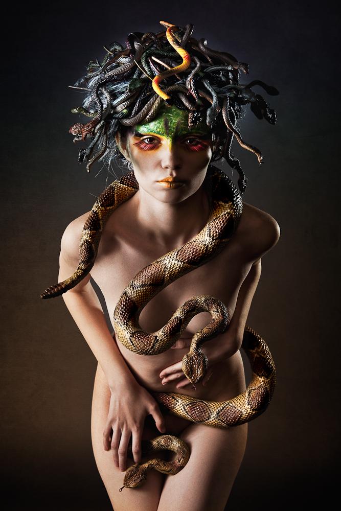 Medusa IV by Aisii