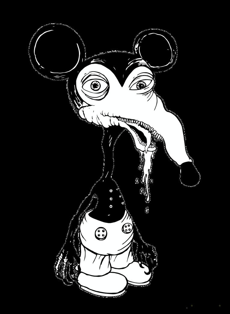 baby donald duck sketch