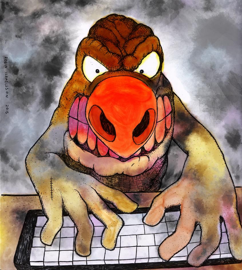 Mutant mole by rubbe