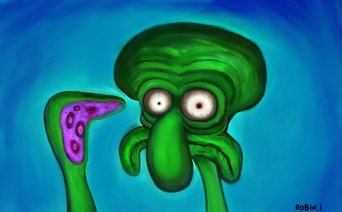 squidward tentacles by mrx3000 on deviantart