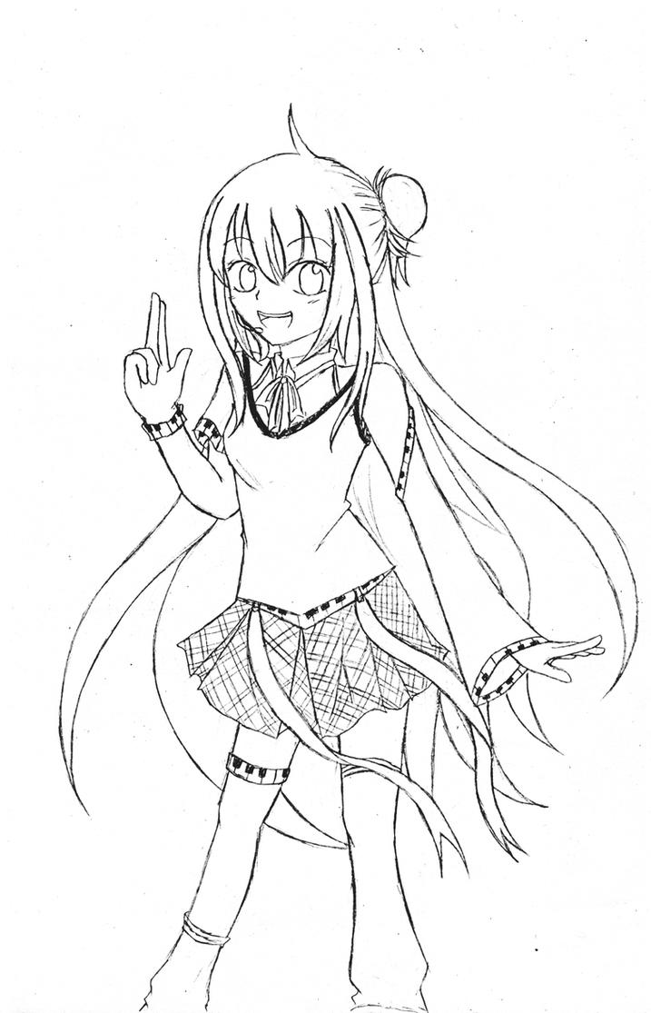 Vocaloid Kaito Coloring Page Coloring Pages Vocaloid Coloring Pages