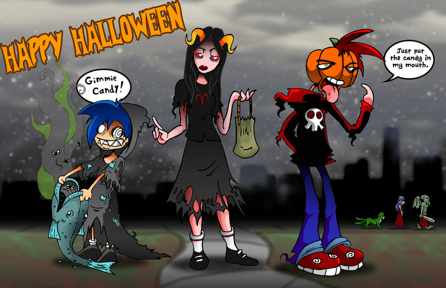 Happy Halloween from Skull-Boy by skull-boy666