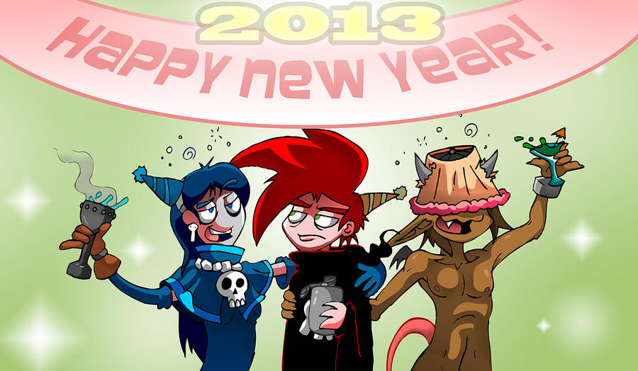 Happy New Year by skull-boy666