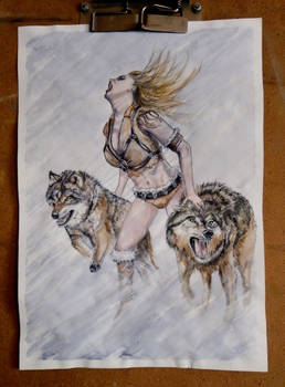 Mistress of the wolves