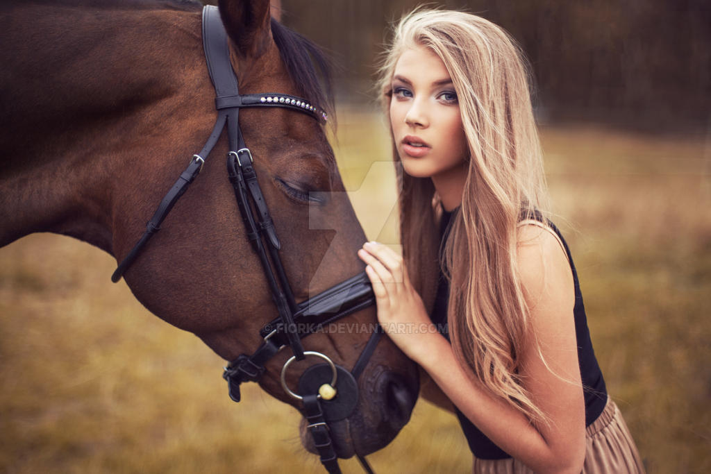 Beauty and horse #2 by fiorka