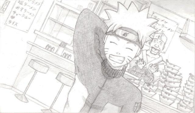 Naruto at Ichiraku's
