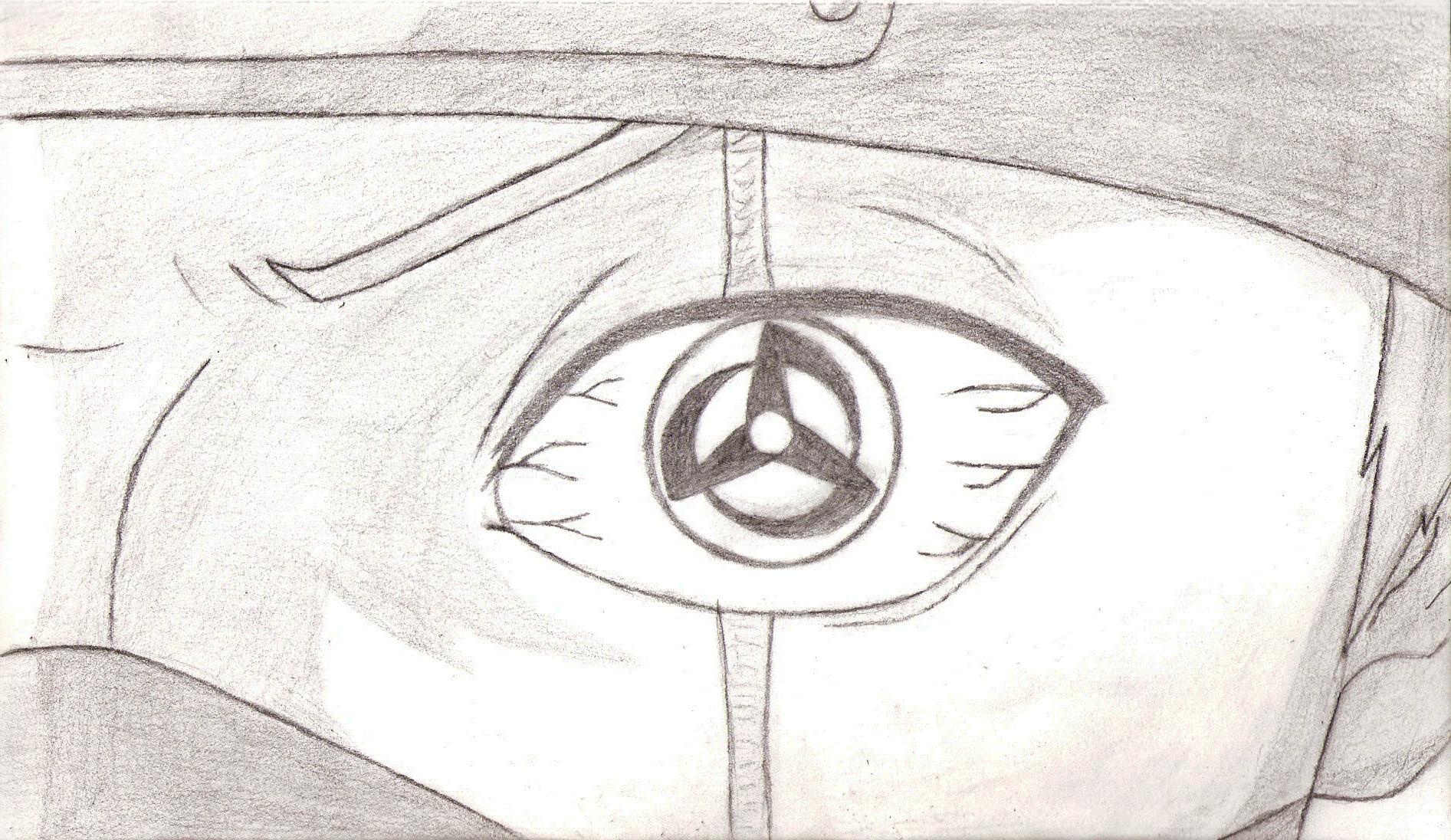 Kakashi Sharingan Drawing   www.imgkid.com - The Image Kid ...