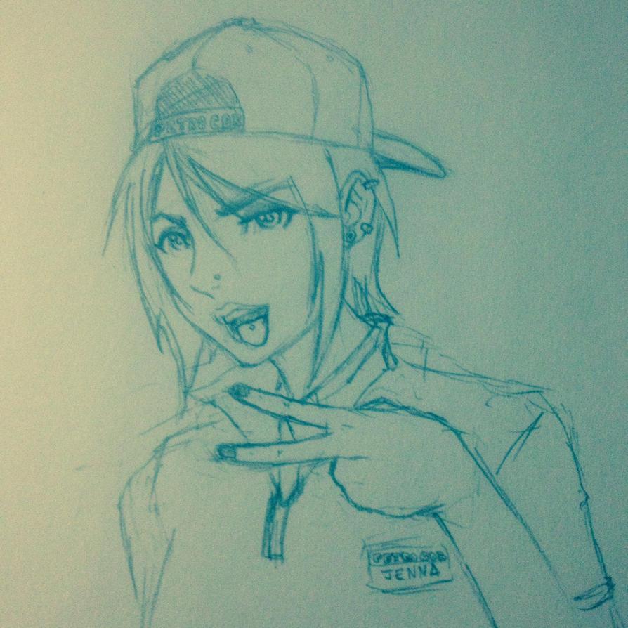 GG sketch by BTrinidad