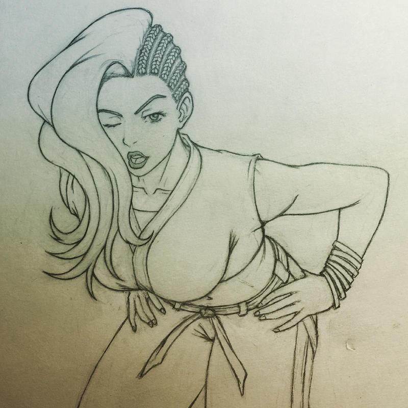 Laura Matsuda by BTrinidad