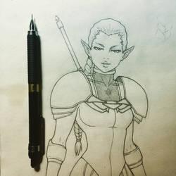Rippiling Ophelia by BTrinidad