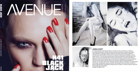 Avenue Illustrated publishes Anna Dart painter by AnnaDart