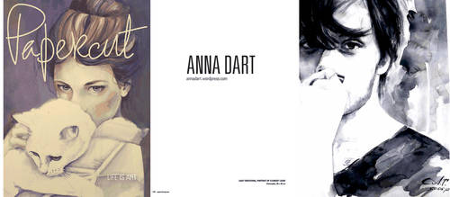 Papercut Magazine publishes Anna Dart painter by AnnaDart