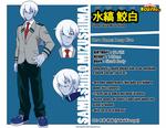 [MyHeroAca] Mizushima Sameshiro -Profile-