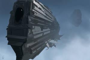 Fleet Carrier by bluemoment