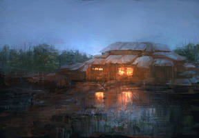 Swamp house by bluemoment