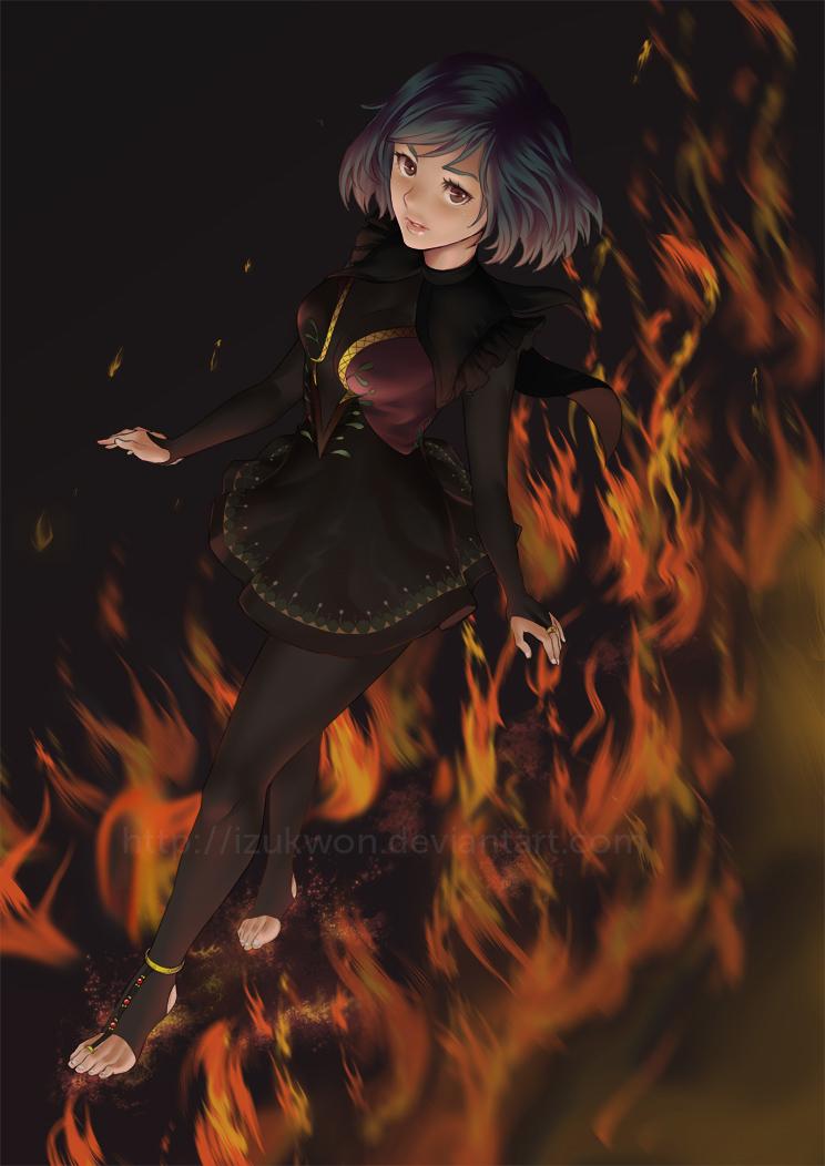 Fire Step by izukwon
