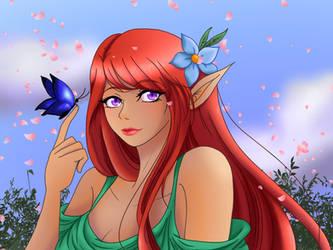 Forest Elf by LadyKaya333