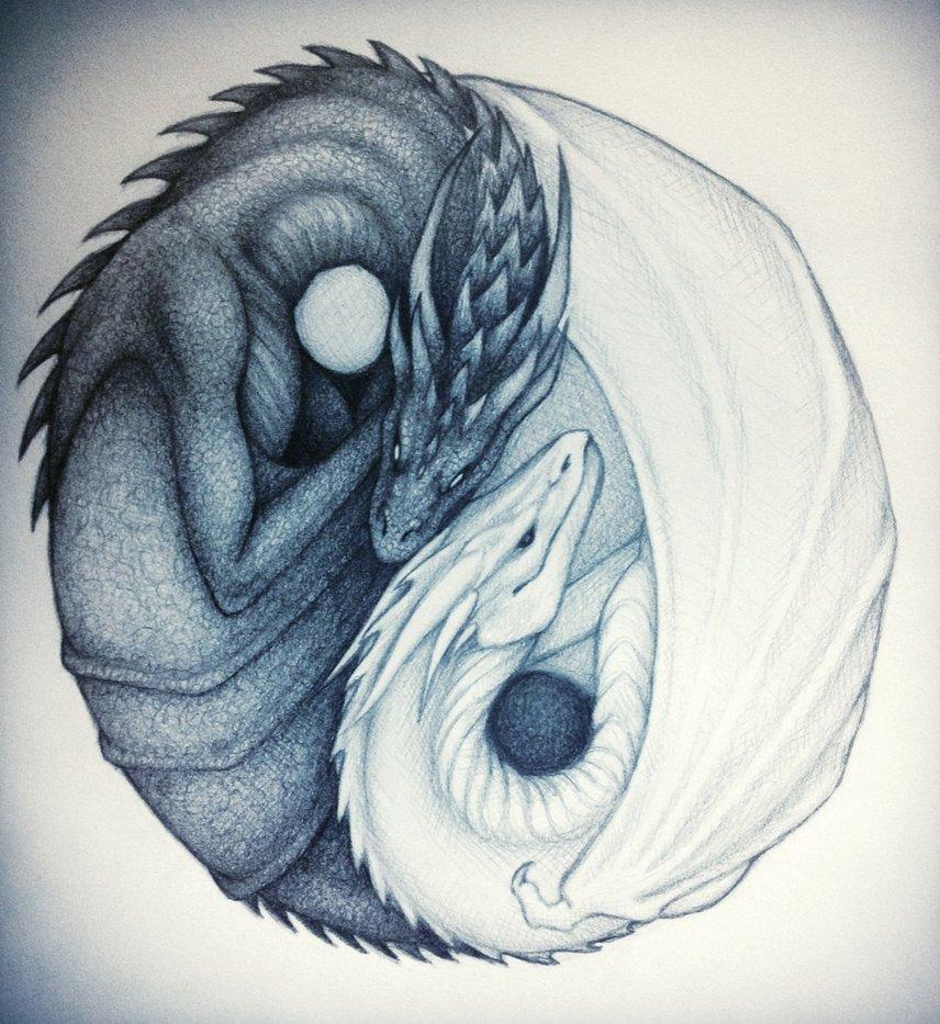 dragon yinyang by shadowofdemons9110 on deviantart