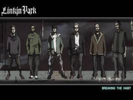 Linkin Park in Anime form
