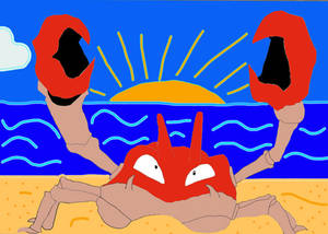 Pokemon Ashs Krabby