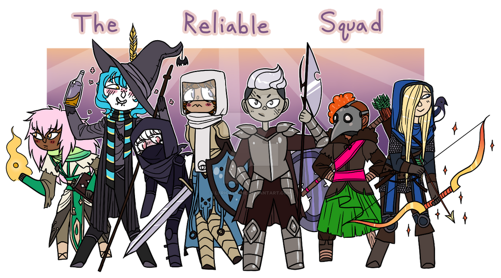 The Reliable Squad by lyricalmime