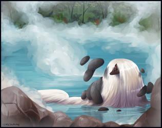 Warm Waters, Hot Springs by lyricalmime