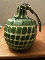 Grenade Pumpkin by soopa