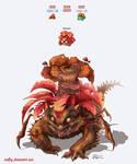 Pokemon Fusion: Parausaur
