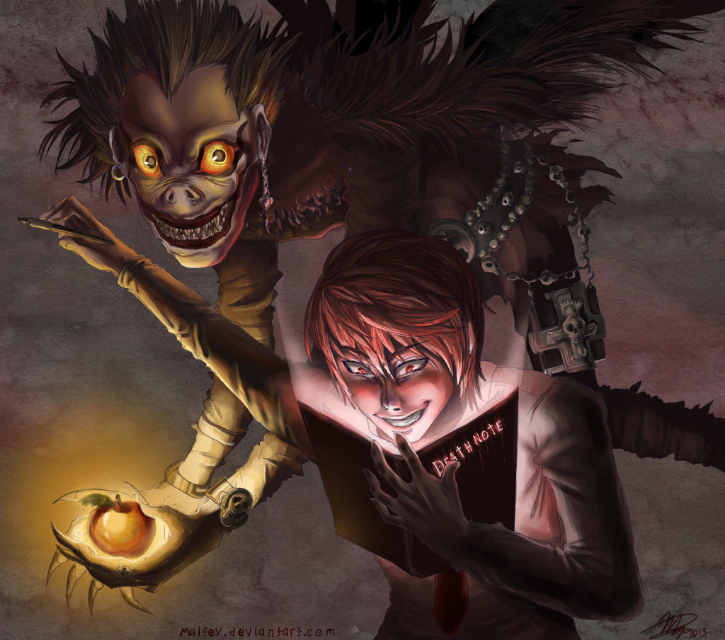Death Note By Pepperoonie On DeviantArt