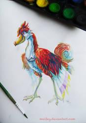 Watercolor Loftwing by SIeepyBears