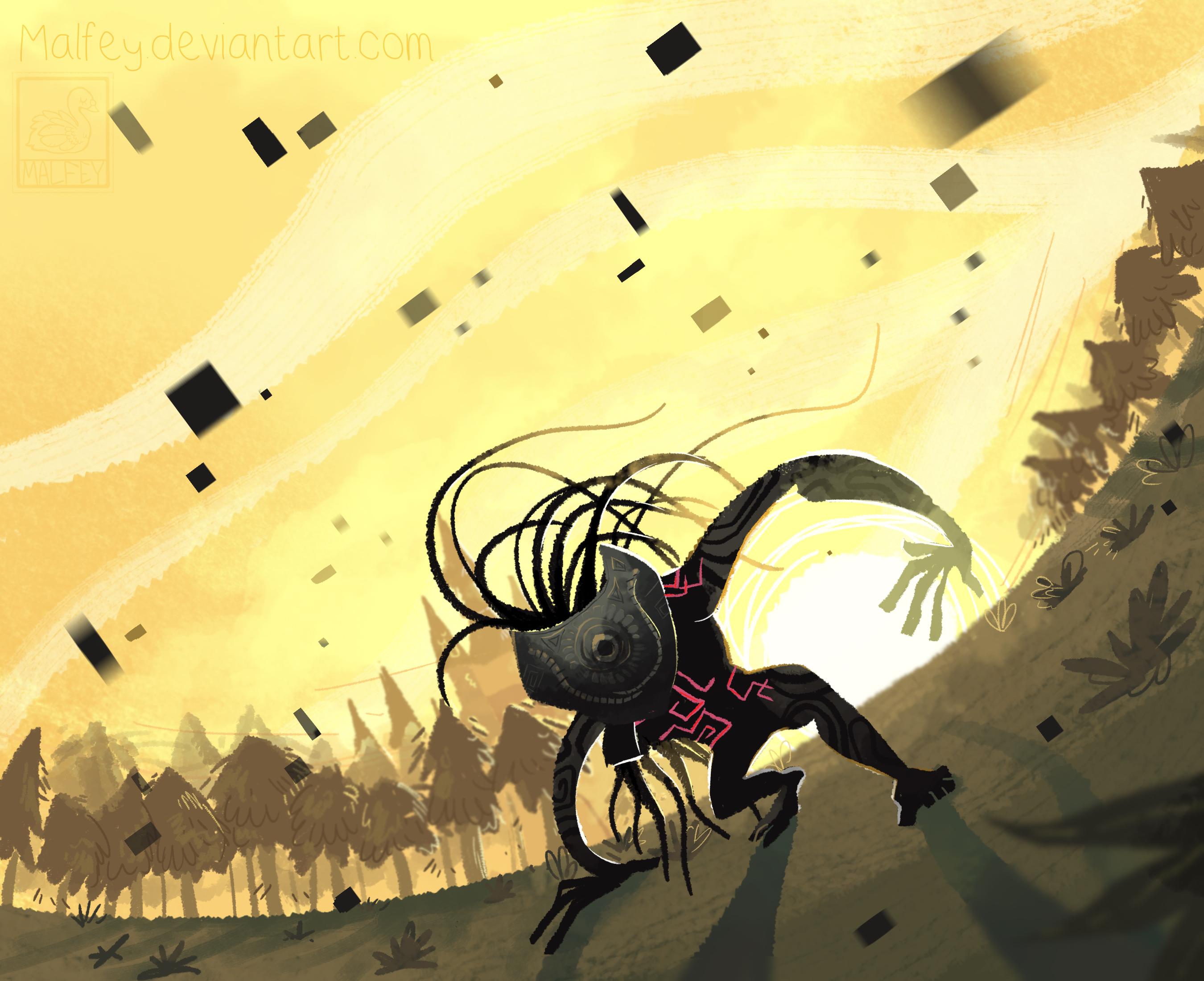 Link's Blacklist: Beast of the Twilight by Pepperoonie
