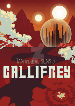 Doctor Who: Gallifrey Travel Poster