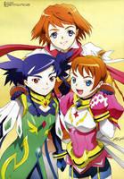 mai arika and nina by Mai-HiME-fan-club