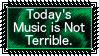 Today's music is not terrible stamp by SuperMarioEmblem